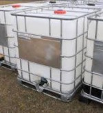 275 Gallon Liquid Storage Poly Tote Tanks